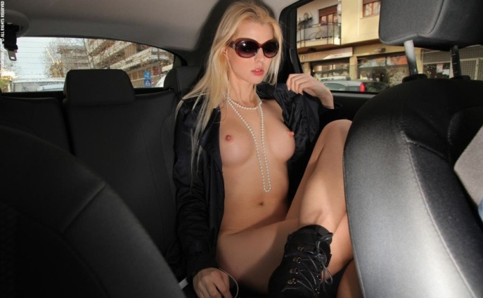 Naked Car Ride