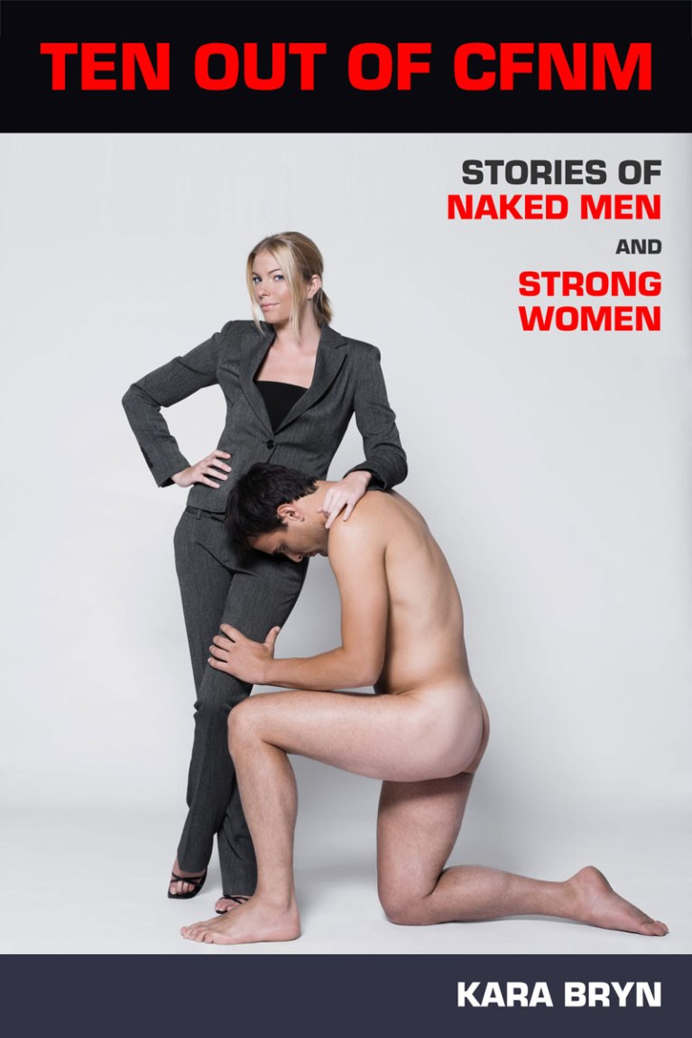 Naked man with clothed woman